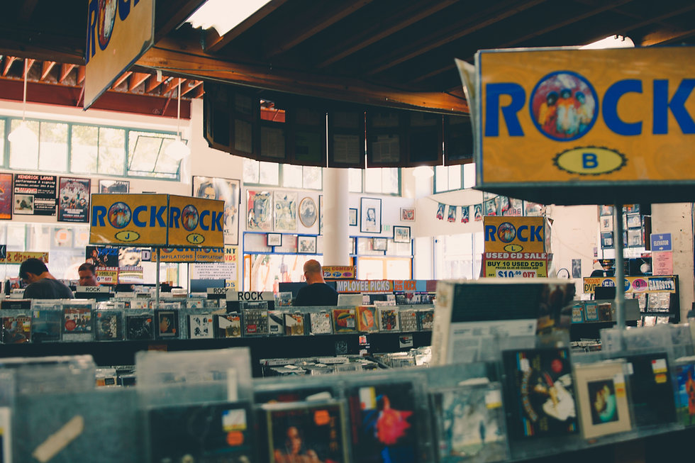 Old Record Store