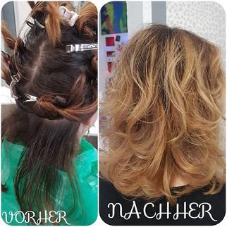 #Balayage #Wellig #Hair #HighLights _#au