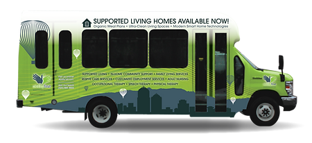 The Ability First Supported Living Bus