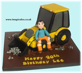 JCB Truck Cake Imagicakes Cakes Stockpor