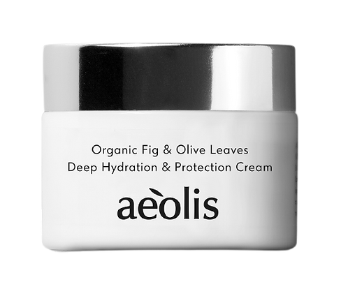 Deep Hydration & Protection Cream | Bio-Feige und Olivenblattextrakt
