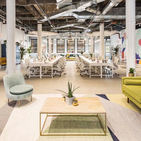 עיצוב מודרני ותעשייתי במשרדים