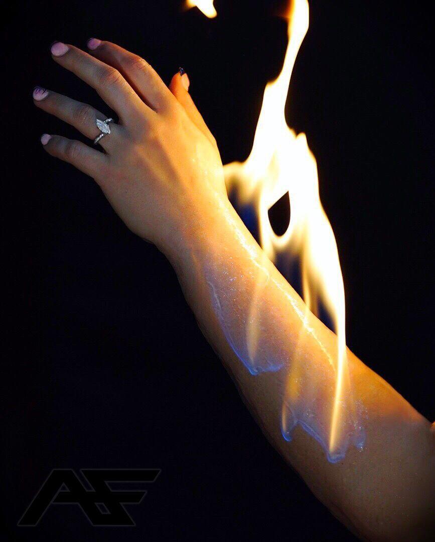 AF Skin Burn