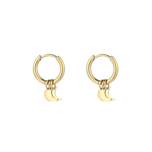 Illuna Earrings - Goud