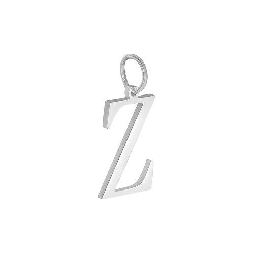 """Z"" Charm - Zilver"