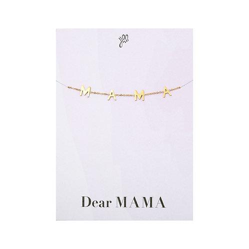 Dear Mama Bracelet - Goud
