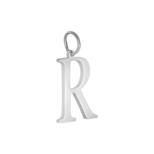 """R"" Charm - Goud & Zilver"