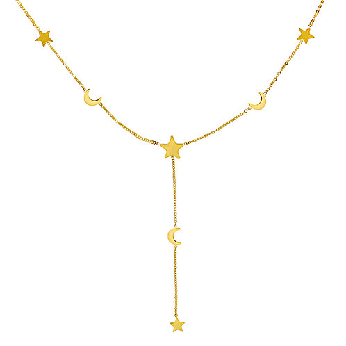 Sky Necklace - Goud
