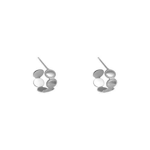 Royalty Earrings - Zilver