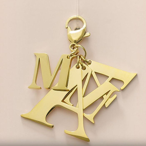 Mothersday gift! - Keychain - Goud