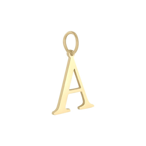"""""""A"""" Charm - Goud & Zilver"""