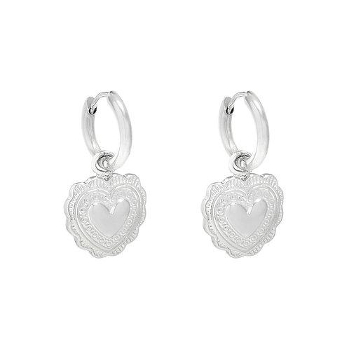 Miya Earrings - Zilver