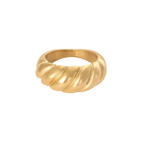 Isa Ring - Goud