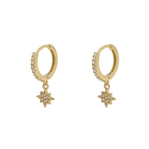 Shiny Star Earrings