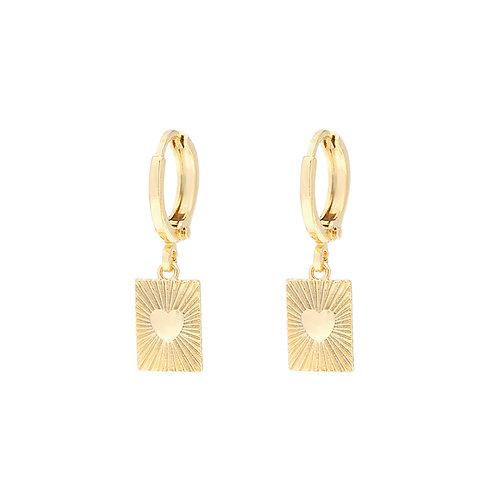 Thirza Earrings - Goud