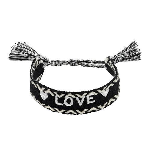 Love Bracelet - Zwart