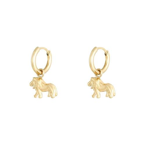 Leah Earrings - Goud