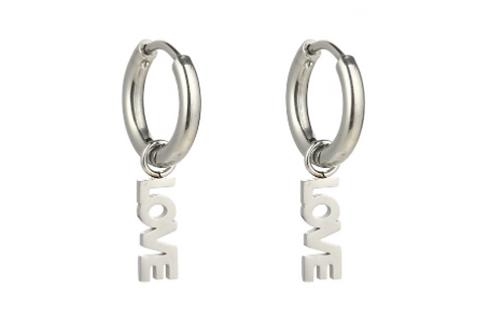 Finding Love Earrings - Zilver