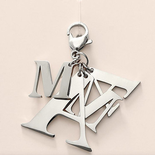 Mothersday gift! - Keychain - Zilver