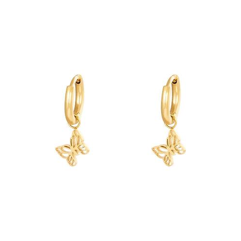 Marie Earrings - Goud