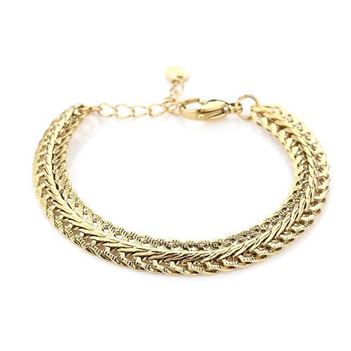 Neva  Bracelet - Goud
