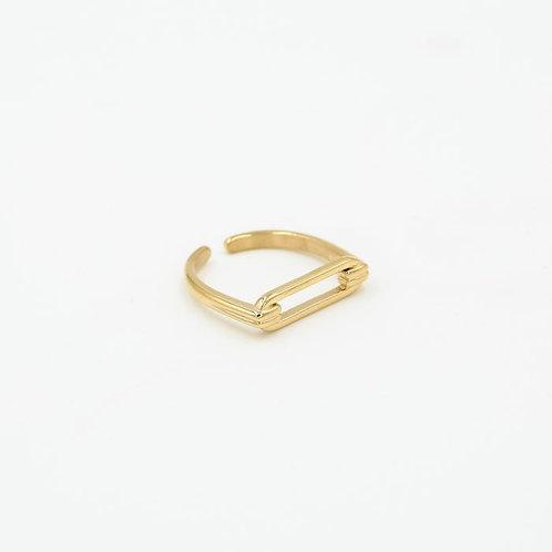 Ruby Ring - Goud