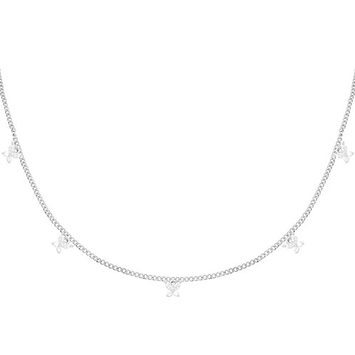 Mini Butterfly Necklace - Zilver
