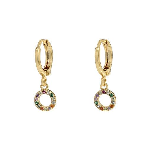 Myra Earrings - Rainbow