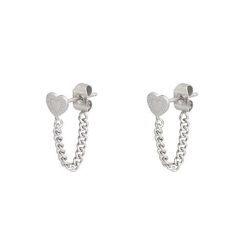 Yenna Earrings - Zilver