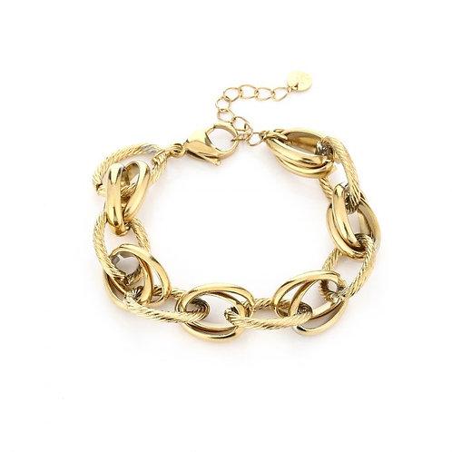 Fajah Bracelet - Goud