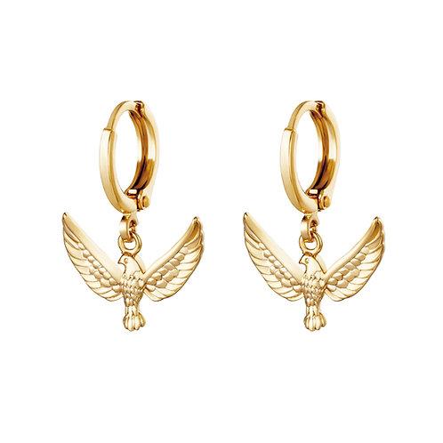 Aguila Earrings - Goud
