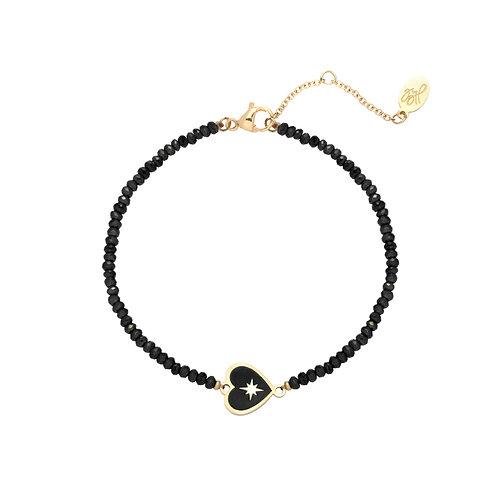 Ivy Bracelet - Zwart