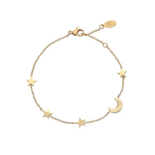 Sky Bracelet - Goud