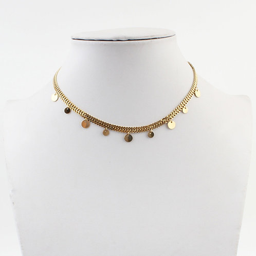 Paola Necklace - Goud