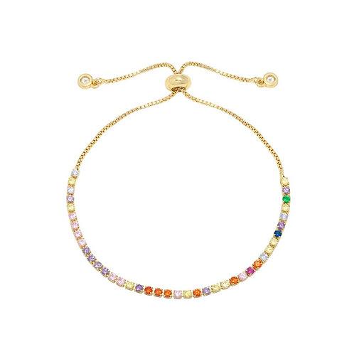 Rainbow Bracelet - Goud