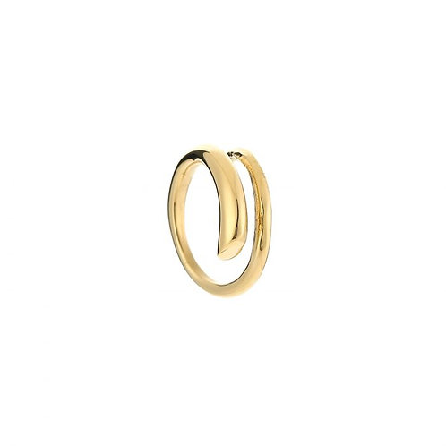 Twisted Ring - Goud