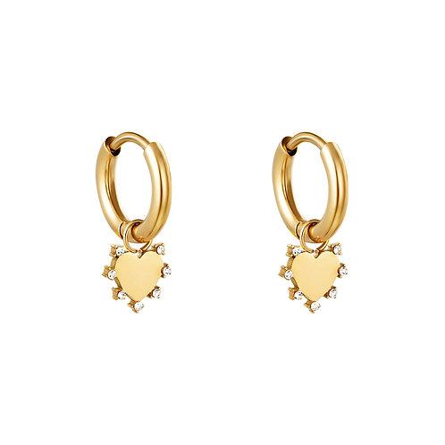 Amelie Earrings - Goud