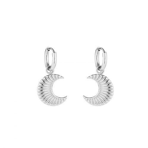 Moony Earrings - Zilver