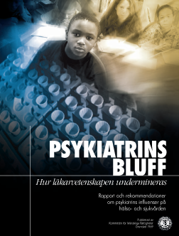 vetenskap bluff psykiatri