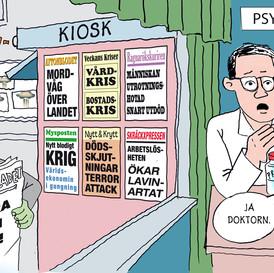 """Medier bakom den """"psykiska ohälsan"""""""