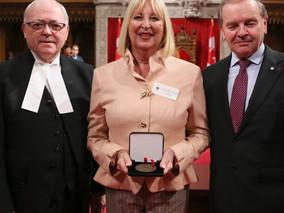 Médaille du 150e anniversaire du Sénat du Canada pour Lisette Jean
