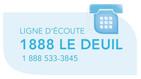 La ligne 1 888 LE DEUIL se poursuit chez Tel-Écoute/Tel-Aînés