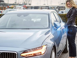 Volvo wants to replace keys with a smartphone app