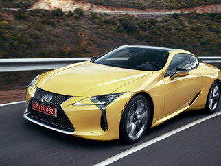 2018 Lexus LC500 and 500h