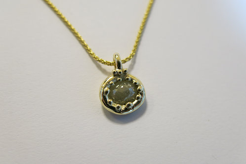 N16 - 14K Gold & Diamond