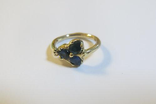R36 - 14K Gold & Sapphires