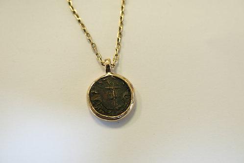 N34 - 14K Gold & Coin