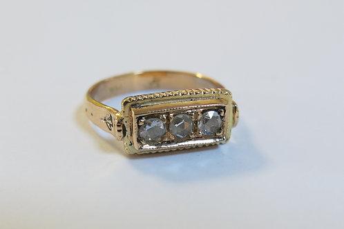 R18 - 14K Pink Gold & Diamonds