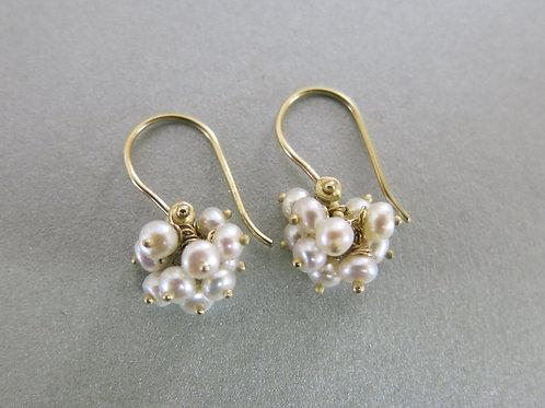 E20 - 14K Gold & Pearls