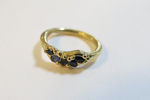 R20 - 14K Gold & Sapphires